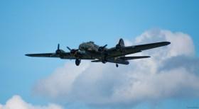 "B-17 Flying Fortress ""Sally B"" (dernier B17 en état de vol en Europe)"