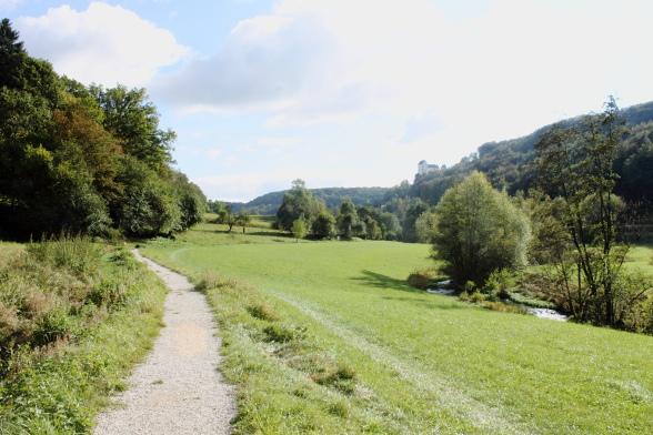 Herbstwanderung im Trubachtal Burg Egloffstein