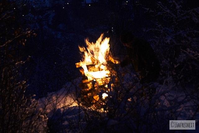 Pottenstein Ewige Anbetung 2017_Das Feuer brennt