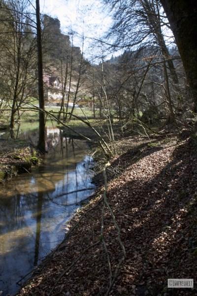 Die Püttlach nahe Tüchersfeld