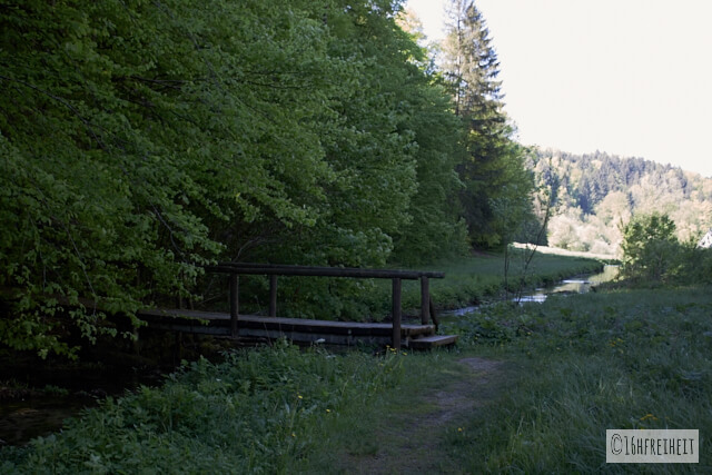 Brücke im Trubachtal