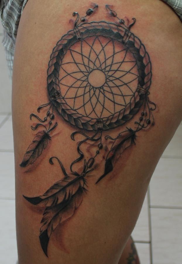Tatuagens Femininas Na Perna Filtro Dos Sonhos