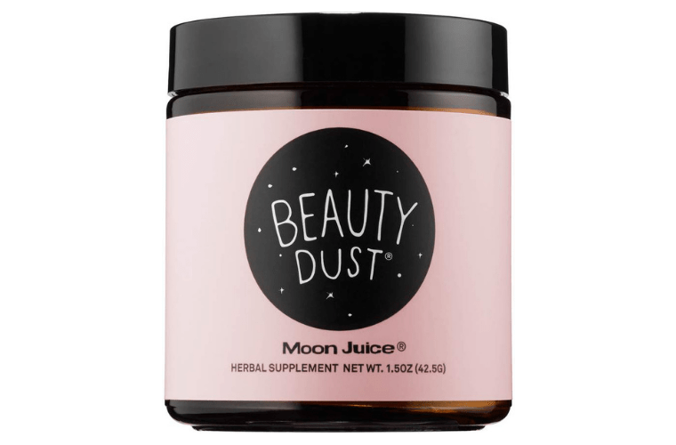 Pink Jar of Moon Juice Beauty Dust