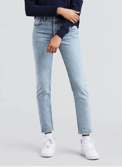 photo of Levi's 501 jeans in Lovefool wash
