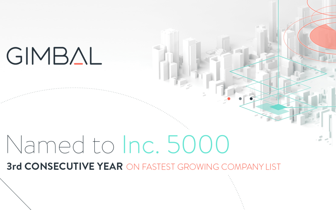 gimbal recognized by inc