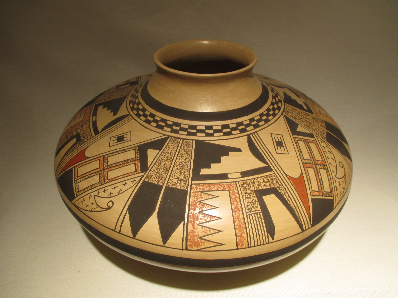 James G Nampeyo Hopi Pottery  Traditional Hopi Pottery