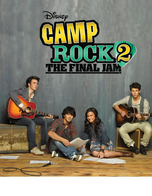 jonasvault:  (via jonasmosaic) Nick looks fussy in the kind of way that one would be when they start their period at camp, to be honest.   I'm so excited about this right now I could pee in my pants. No lie. Also, I love how Joe and Kevin did NOT straighten their hair. Bonus points.  CAMP ROCK 2! Bring it on :)