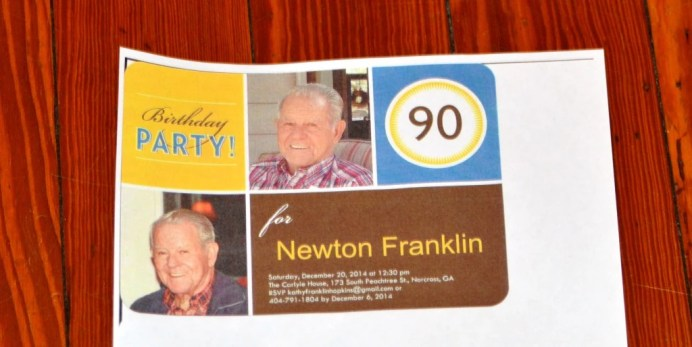Happy Birthday Newton! 173 Carlyle House Historic Downtown Norcross