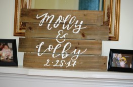 Congratulations Molly and Colby! 173 Carlyle House Historic Downtown Norcross