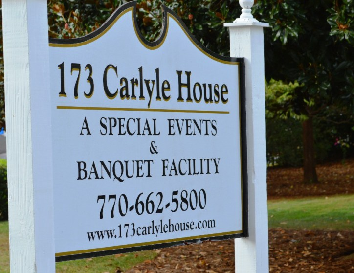 Katie and Michael's wedding 173 Carlyle House Historic Downtown Norcross