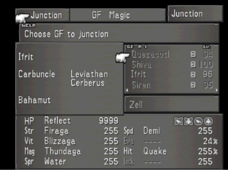 FF Junction Screen