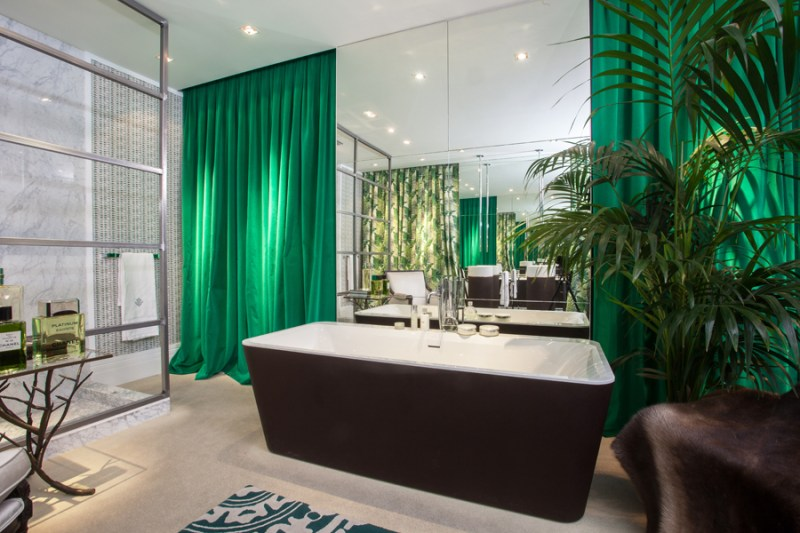 Villeroy & Boch en Casa Decor - Julian Gallego Jungle Bath4