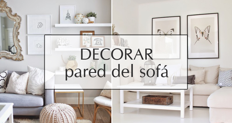 Decorar la pared del sof 1748 - Decoracion de paredes con fotografias ...