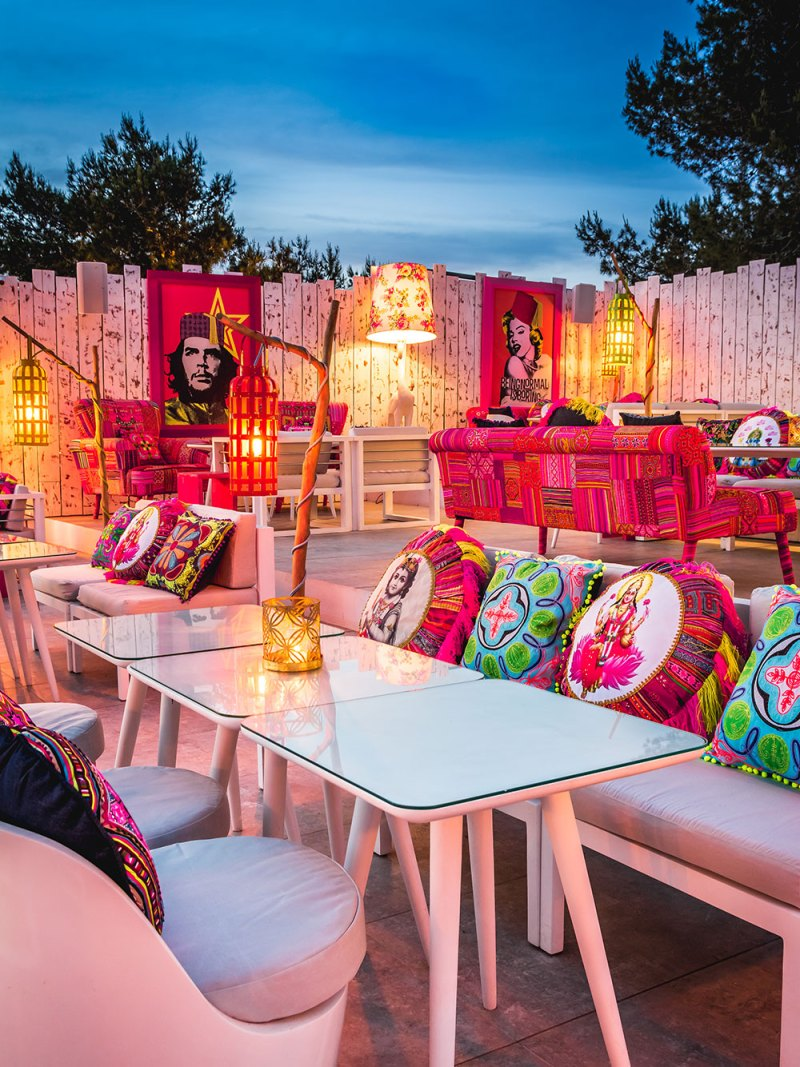 Restaurante Patchwork, retazos de Asia en Ibiza