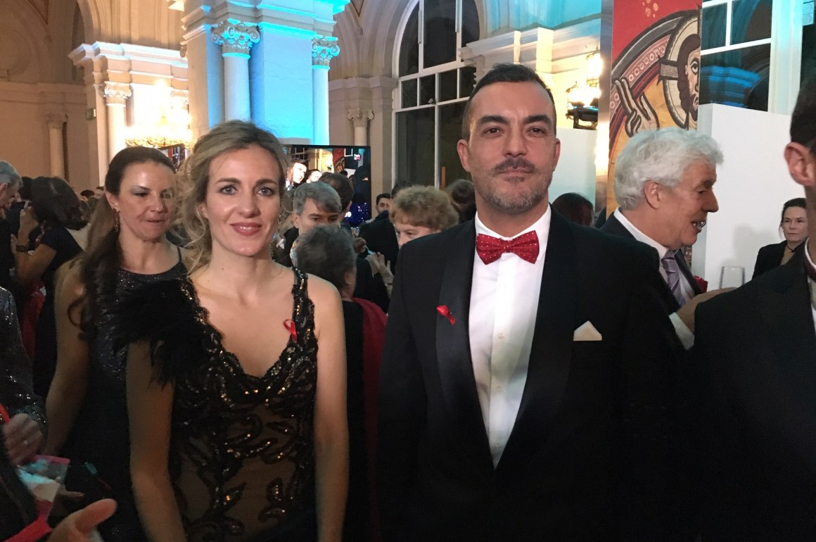 Villeroy & Boch en la Gala People in Red
