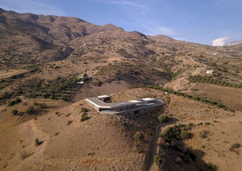 The Ring House, una casa en Creta con nombre propio