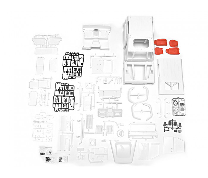 Defender D90 2-Door 1/10 Hard Body Kit