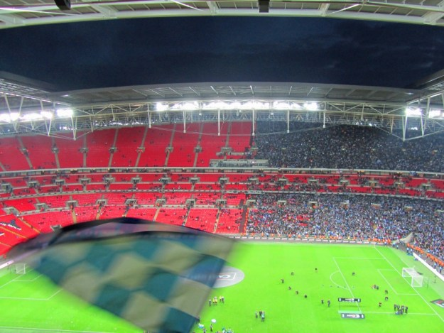 Wembley half full, half empty after the Carling Cup Final 2011