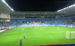 Small crowd at the Ricoh