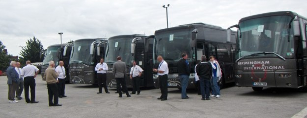 Coaches for Yeovil 10/8/2013
