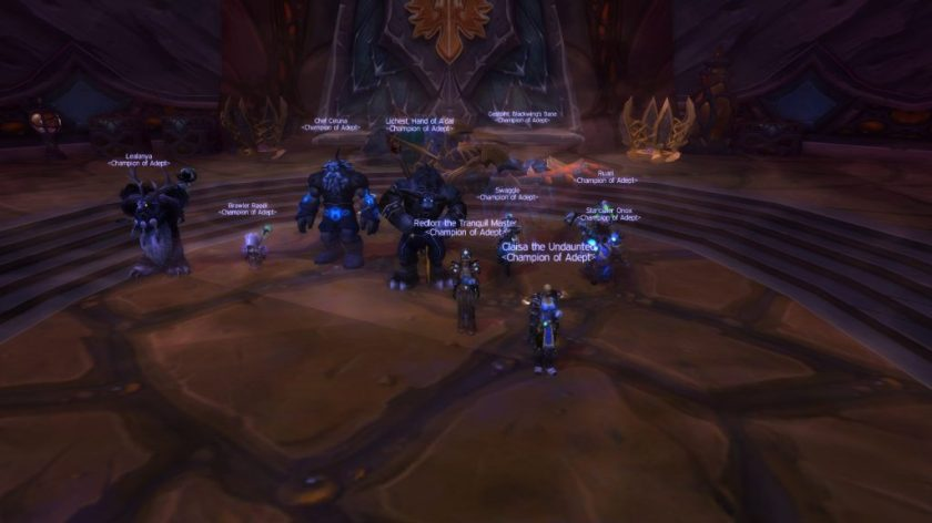 Blade Lord Heroic Down