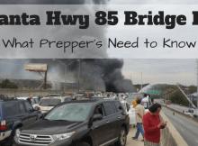 preparedness, SHTF, Atlanta, Highway, bridge, fire