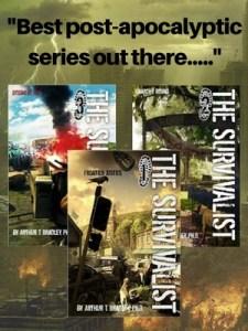 survivalist, book, series, apocalyptic, Bradley,