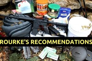 preparedness, supplies, Rourke, medical, SHTF, food storage,