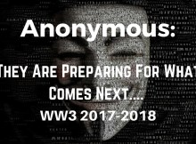 Anonymous, video, world war, nuclear war, North Korea,