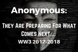 Anonymous, video, world war, nuclear war, North Korea,