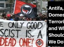 Antifa, politics, SHTF, terrorism, protest, racist, preparedness, survival, prepper,