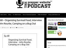 podcast, prepper, Rourke, John, The Prepper Website Podcast, interview