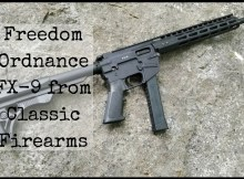 Federal Ordnance FX-9, 9mm carbine, AR, FX-9, SHTF,