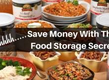 food storage, secret, food storage secret, budget, prepper, preparedness, SHTF,