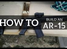 AR build, AR-15, how to, build, gun, ammo, SHTF, prepper, preparedness