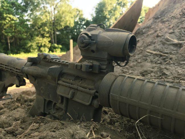 AR-15, Sightmark CSR, red dot, SHTF, sight, optic