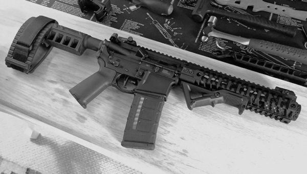 AR pistol, Sig brace, Sig, SBX