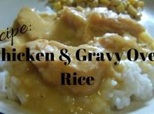 recipe, chicken & rice, prepper, survival, preparedness, food storage, cooking, cookbook