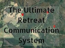 retreat communications, SHTF, commo, ham radio, radio, prepper, preparedness