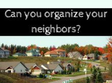 SHTF, can you organize your neighbors, prepper, preparedness, bugging out, bug out