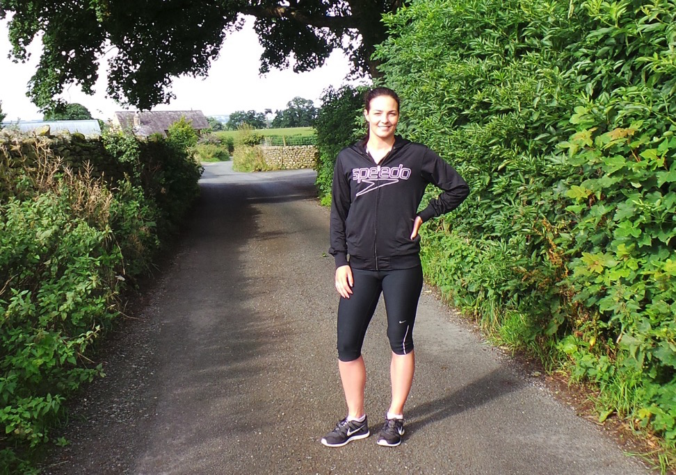 Keri-Anne Payne fitness country lane