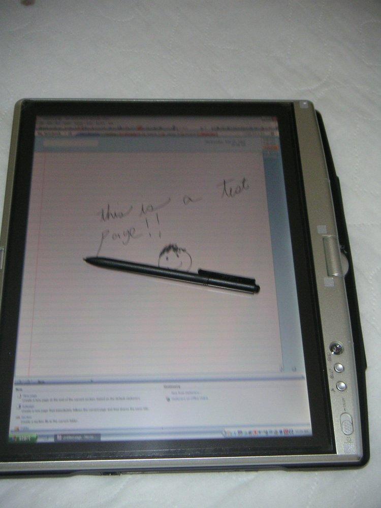Toshiba Tecra M4 Notebook Tablet PC Convertible Review