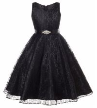 Floral Black Dress Prom Black Dresses Wedding Birthday ...