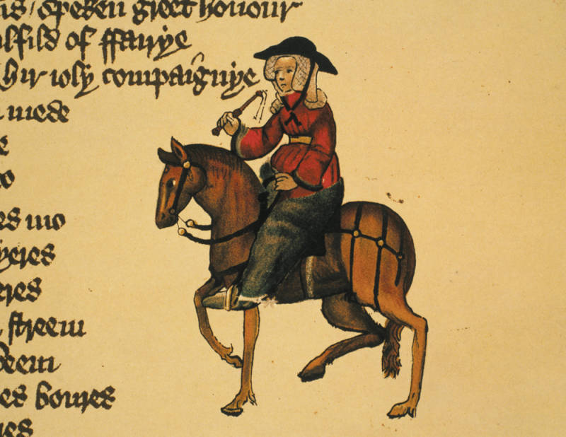 Image result for Chaucer wife of bath