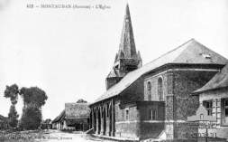 Montauban Church 1914