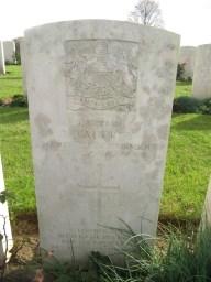 Capt. N.Vaudrey. OC B Coy.