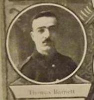 Thomas Barnett Courtesy Adelphi Book of Rememberance KiA Trones Wood 8/7/1916