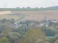 Overlooking former German positions in Curlu from Vaux Wood