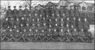 XII Pln C Coy 17th Bn Courtesy Manchesters Forum and Book of Honour. Clive thinks Frank is third from left on the secod row from the back.
