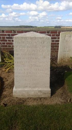 Kipling Memorial, Dantzig Alley Cemetery